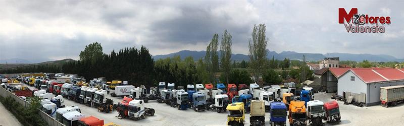 Desguaces de camiones Valencia