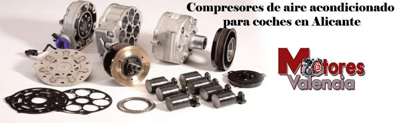 Compresores de aire acondicionado para coches Alicante