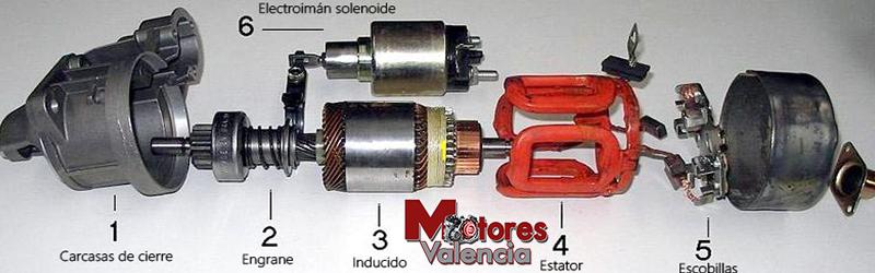 Motores de arranque de ocasión Valencia