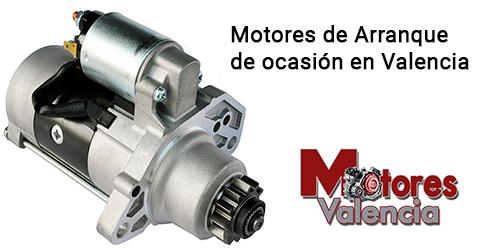 Motores de arranque de ocasión en Valencia
