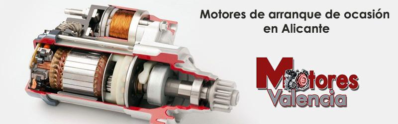 Motores de arranque de ocasión Alicante