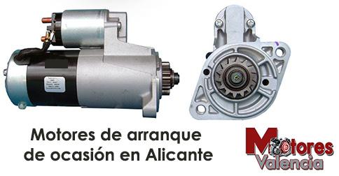 Motores de arranque de ocasión en Alicante