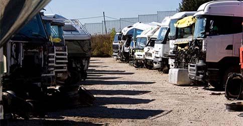 Desguaces de camiones en Alicante
